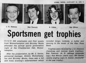 Sportsmen Get Trophies