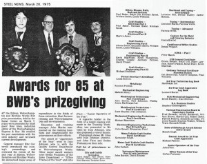 Prizegiving 1975