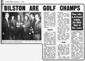 October 1976 - Golf Pride