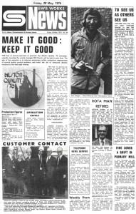 BWB News May 1976
