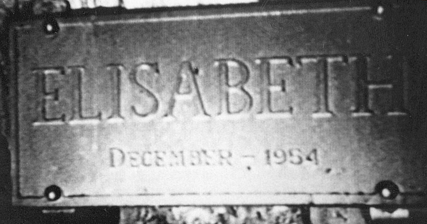 Blast Furnace Elisabeth Nameplate