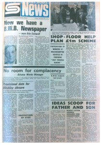 BWB News April 1975
