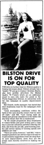 Bilston's Drive For Quality