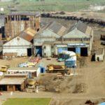 Bilston steelworks transport repair shops