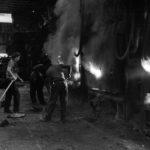 Bilston Steelworks Melting Shop Landing